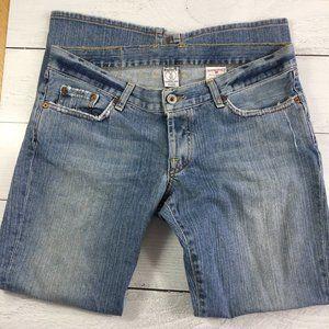 Lucky Brand Gene Montesano Dungaree Jeans, Size 10